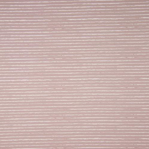 0.5m Jersey Stripes altrosa