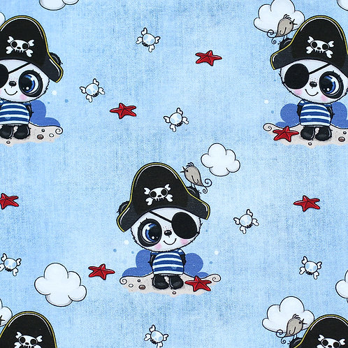 0.5m Jersey Little Pirate hellblau