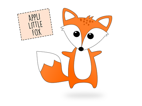 "Applikationsvorlage Fuchs ""Little Fox"" - FREEBOOK"