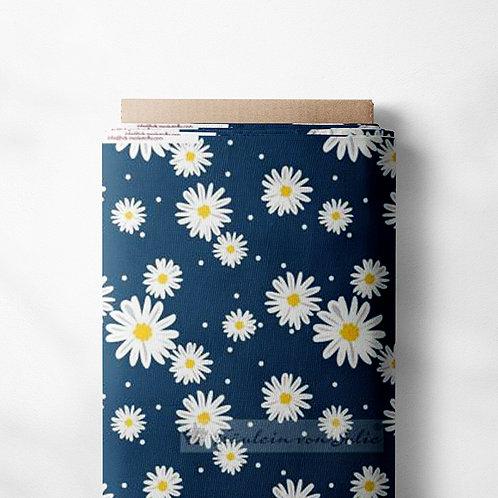 0.5m Jersey Blumenwiese blau
