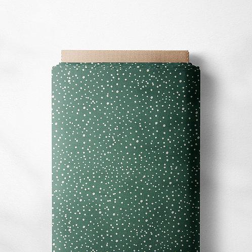 0.5m Jersey Mini Dots altmintgrün