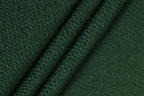 0.5m Bio-French Terry uni dunkelgrün