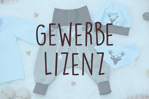 Gewerbe-Lizenz: Latz für Lederhose und Plotterdatei Oktoberfest