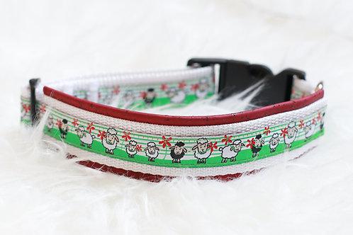 Anleitung gepolstertes Hunde-Halsband in 9 Größen