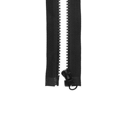 Reißverschluss schwarz (teilbar)