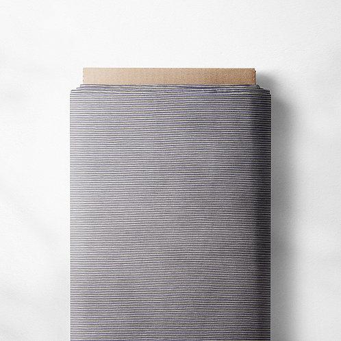 0.5m Jersey Ministripes hellgrau-weiß