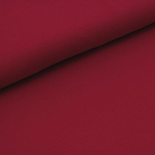 0.5m Bio-French Terry Uni kirsche