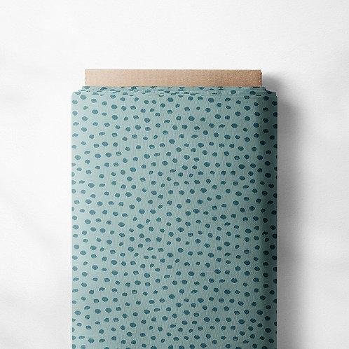 0.5m Jersey Mini Dotties altmintgrün