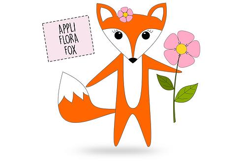 "Applikationsvorlage Fuchs ""Flora Fox"" - FREEBOOK"