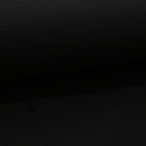 0.5m Bio Bündchen schwarz GOTS
