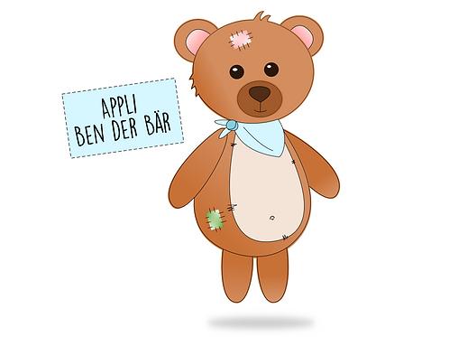 Applikationsvorlage Ben der Bär