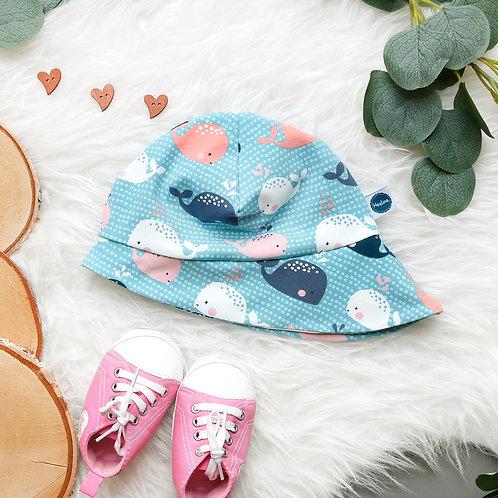 Sommerhut Babywale rosa