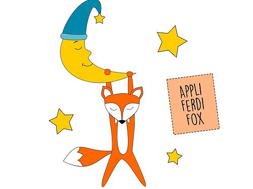 "Applikationsvorlage Fuchs ""Ferdi Fox"""