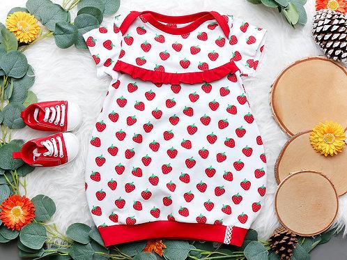 Ballonkleid Kleine Erdbeere #80