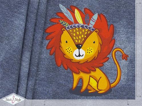 PANEL Jersey Jeans Look Häuptling Leo - dunkelblau