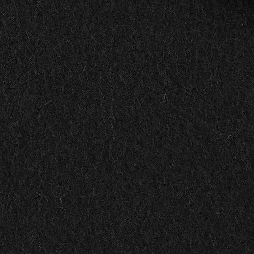 RESTSTÜCK 90cm Walkloden schwarz