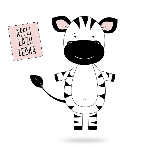Applikationsvorlage Zazu Zebra