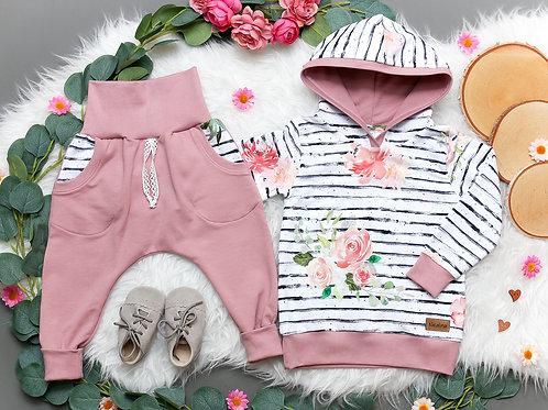 SET Blumenmädchen #92 (Hoodie und Hose)