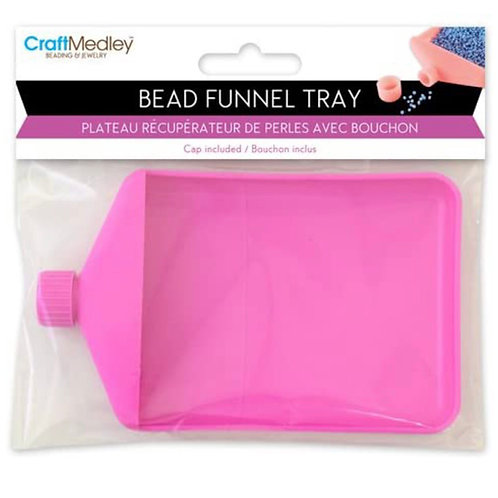 Mini funnel tray for sprinkles, glitter, sanding sugar...