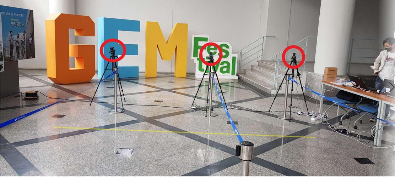 IR Camera installation