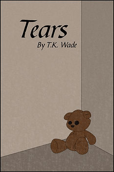 A lonely teddy bear. Tears. Book.