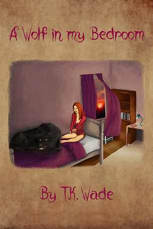 wolf girl A Wolf in my Bedroom book cover