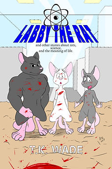 three rats. lab. Lab the Rat and other stories about rats, science, and the meaing of life. Book cover
