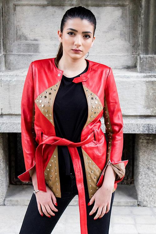 Riveted Fashion Designer Jacket-3