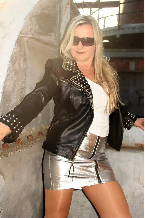 Stunning Chain Collar Jacket.