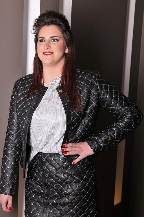 Quilted Business Jacket.