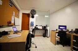Sala de Produção da Produtora de Vídeos Conti Conteúdo Inteligente