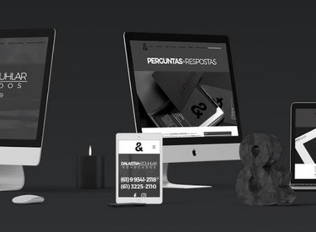 Elegante e impactante: como criamos o site Dalastra & Zouhlar Advogados