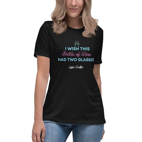 """""""Bottle of Wine"""" Lyric T-Shirt"""