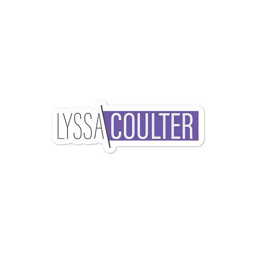 Lyssa Coulter Sticker