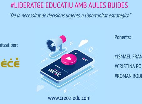 #LIDERATGE EDUCATIU AMB AULES BUIDES