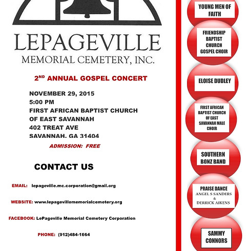 2nd Annual Gospel Concert