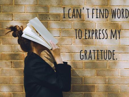 Английские слова. Тема Благодарность 🙏