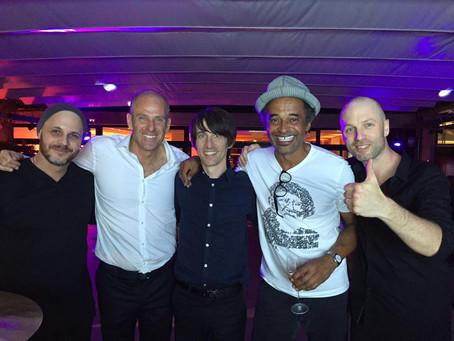 Avec Yannick Noah & Guy Forget! Ouverture Roland-Garros 2016