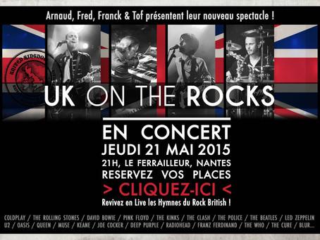 Trio Cover présente UK ON THE ROCKS !