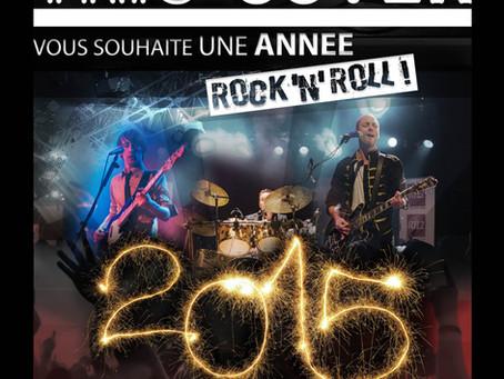 Nous vous souhaitons  Une Année Rock 'n' Roll !