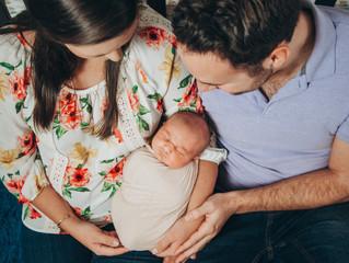 Baby Leo & His Parents.
