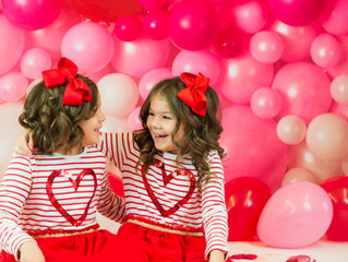 Kinley + Sophia, Valentines 2021.