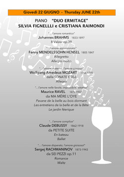 progr.musicale DUO ERMITAGE