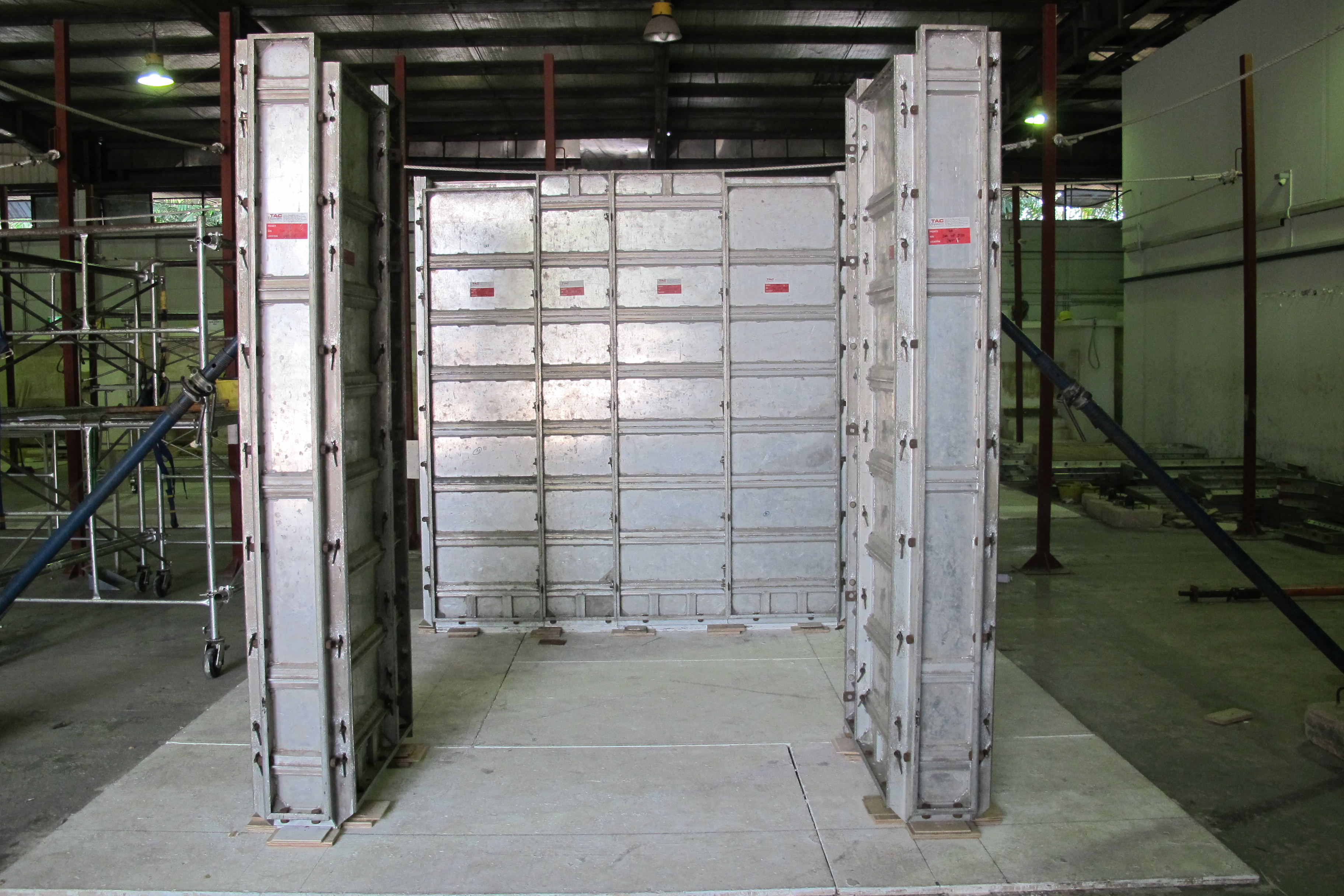 Enhanced Aluminium Formwork