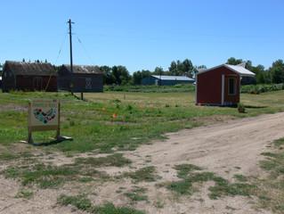 Roadside farmstand.