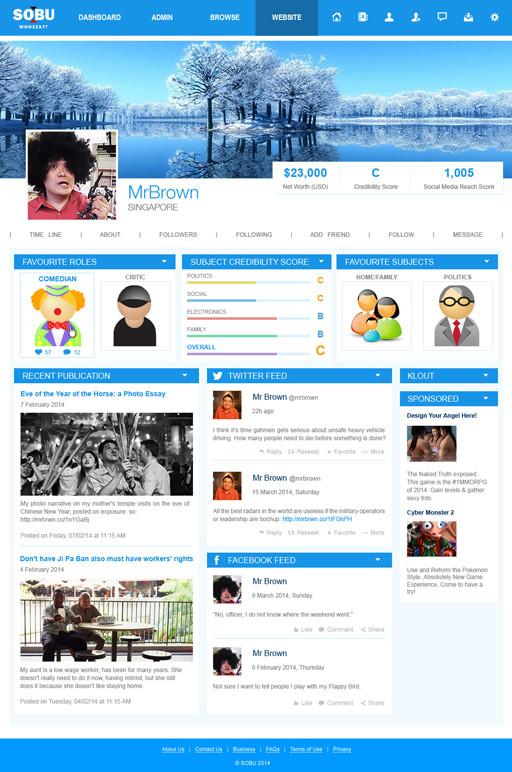 SOBU Profile Page