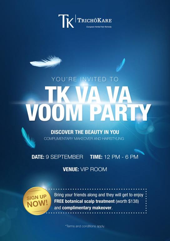 TK Va Va Voom Party