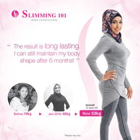 Slimming 101 Digital Banner