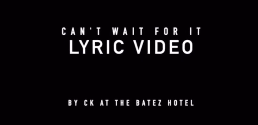 Dirty Crescendos Lyric Video by CK at the Batez Hotel
