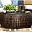 Thumbnail: Outdoor- Round Wicker Coffee Table